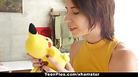 TeenPies- Fucked and Creampied By Pikachu! Pokemongo