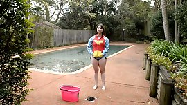 ice bucket boobs and legs