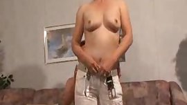 Naughty MILF in Action