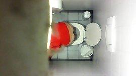 Girl spy cam bathroom