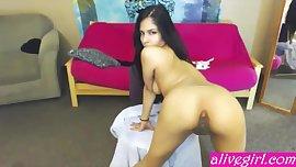18 teen latina Alyssa_Stone plays with hot tiny pussy - alivegirl