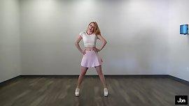 Sexy teen dancer