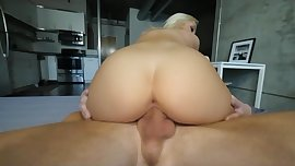 Small blonde Teen destroyed by Big Cock