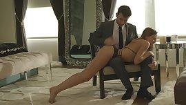 X-ARt.com Aubrey Star is spanked by James Deen