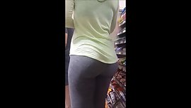 Juicy bubble butt in grey leggings