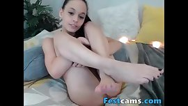 Compilation with some girls with footfetish