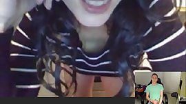 Skype Teenage Cam2Cam Masturbation