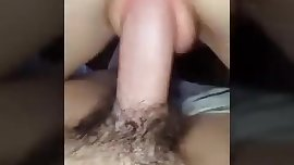 Amateur blonde POV riding and doggystyle