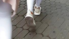 White jeans teen