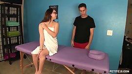 Massage table fuck
