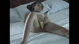 Hot Latina Pantie Play