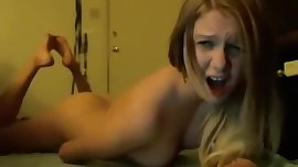 Cute 18 Year Old Masturbates on Webcam