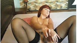 brunette sasha big squirt on mfc good)