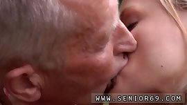 Milf amateur and old man young girl kitchen Paul is getting on a bit and